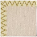 Capel Rugs Creative Concepts White Wicker - Bamboo Rattan (706) Rectangle 8
