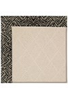 Capel Rugs Creative Concepts White Wicker - Wild Thing Onyx (396) Rectangle 8' x 10' Area Rug