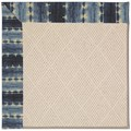 Capel Rugs Creative Concepts White Wicker - Java Journey Indigo (460) Rectangle 8