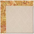 Capel Rugs Creative Concepts White Wicker - Tuscan Vine Adobe (830) Rectangle 9