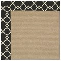 Capel Rugs Creative Concepts Sisal - Arden Black (346) Octagon 4