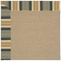 Capel Rugs Creative Concepts Sisal - Long Hill Ebony (340) Octagon 8