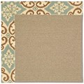 Capel Rugs Creative Concepts Sisal - Shoreham Spray (410) Octagon 8