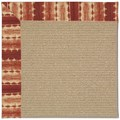 Capel Rugs Creative Concepts Sisal - Java Journey Henna (580) Octagon 8