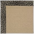 Capel Rugs Creative Concepts Sisal - Wild Thing Onyx (396) Octagon 10