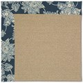 Capel Rugs Creative Concepts Sisal - Bandana Indigo (465) Rectangle 3