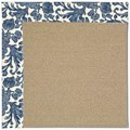 Capel Rugs Creative Concepts Sisal - Batik Indigo (415) Rectangle 5
