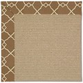 Capel Rugs Creative Concepts Sisal - Arden Chocolate (746) Rectangle 8
