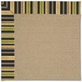 Capel Rugs Creative Concepts Sisal - Vera Cruz Coal (350) Rectangle 8