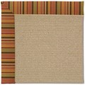 Capel Rugs Creative Concepts Sisal - Tuscan Stripe Adobe (825) Rectangle 9