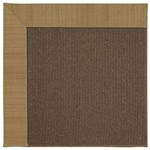 Capel Rugs Creative Concepts Java Sisal - Dupione Caramel (150) Octagon 4' x 4' Area Rug