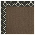Capel Rugs Creative Concepts Java Sisal - Arden Black (346) Octagon 4