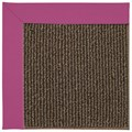 Capel Rugs Creative Concepts Java Sisal - Canvas Hot Pink (515) Octagon 4
