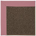 Capel Rugs Creative Concepts Java Sisal - Canvas Coral (505) Octagon 6