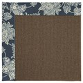 Capel Rugs Creative Concepts Java Sisal - Bandana Indigo Blue (465) Rectangle 3