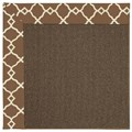 Capel Rugs Creative Concepts Java Sisal - Arden Chocolate (746) Rectangle 3