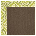 Capel Rugs Creative Concepts Java Sisal - Shoreham Kiwi (220) Rectangle 4