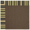 Capel Rugs Creative Concepts Java Sisal - Vera Cruz Coal (350) Rectangle 4