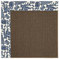 Capel Rugs Creative Concepts Java Sisal - Batik Indigo (415) Rectangle 5