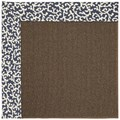 Capel Rugs Creative Concepts Java Sisal - Coral Cascade Navy (450) Rectangle 5