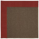 Capel Rugs Creative Concepts Java Sisal - Canvas Cherry (537) Rectangle 5' x 8' Area Rug