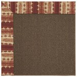 Capel Rugs Creative Concepts Java Sisal - Java Journey Henna (580) Rectangle 5' x 8' Area Rug