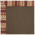 Capel Rugs Creative Concepts Java Sisal - Java Journey Henna (580) Rectangle 6