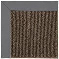 Capel Rugs Creative Concepts Java Sisal - Canvas Charcoal (355) Rectangle 8