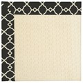 Capel Rugs Creative Concepts Sugar Mountain - Arden Black (346) Octagon 4