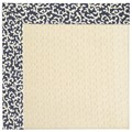 Capel Rugs Creative Concepts Sugar Mountain - Coral Cascade Navy (450) Octagon 6