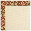 Capel Rugs Creative Concepts Sugar Mountain - Shoreham Brick (800) Octagon 10