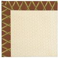 Capel Rugs Creative Concepts Sugar Mountain - Bamboo Cinnamon (856) Octagon 12