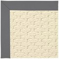 Capel Rugs Creative Concepts Sugar Mountain - Canvas Charcoal (355) Rectangle 3
