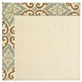 Capel Rugs Creative Concepts Sugar Mountain - Shoreham Spray (410) Rectangle 6