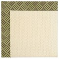Capel Rugs Creative Concepts Sugar Mountain - Dream Weaver Marsh (211) Rectangle 7