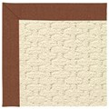 Capel Rugs Creative Concepts Sugar Mountain - Linen Chili (845) Rectangle 7
