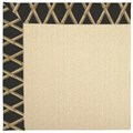 Capel Rugs Creative Concepts Beach Sisal - Bamboo Coal (356) Rectangle 8