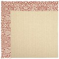 Capel Rugs Creative Concepts Beach Sisal - Imogen Cherry (520) Rectangle 8