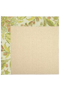 Capel Rugs Creative Concepts Beach Sisal - Cayo Vista Mojito (215) Rectangle 10' x 10' Area Rug