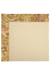 Capel Rugs Creative Concepts Beach Sisal - Tuscan Vine Adobe (830) Rectangle 12' x 12' Area Rug