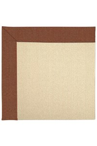 Capel Rugs Creative Concepts Beach Sisal - Linen Chili (845) Rectangle 12' x 12' Area Rug