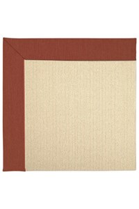 Capel Rugs Creative Concepts Beach Sisal - Canvas Brick (850) Rectangle 12' x 12' Area Rug