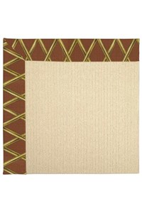 Capel Rugs Creative Concepts Beach Sisal - Bamboo Cinnamon (856) Rectangle 12' x 12' Area Rug