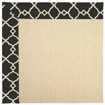 Capel Rugs Creative Concepts Beach Sisal - Arden Black (346) Rectangle 12' x 15' Area Rug