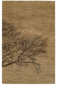 Capel Graphique Shadow 775 Bark (3391 775) Rectangle 8'0
