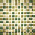 "Daltile Color Wave Glass Mosaic 1"" x 1"" : Rain Forest CW2511MS1P"
