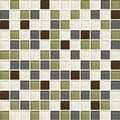 "Daltile Color Wave Glass Mosaic 1"" x 1"" : Autumn Trail CW2611MS1P"