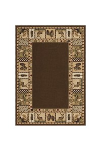 Shaw Living Inspired Design Isabella (Beige) Rectangle 3'10