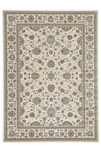 Shaw Living Kathy Ireland Home Essentials Sonnet Border (Natural) Rectangle 9'3