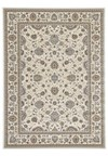 Shaw Living Kathy Ireland Home Essentials Sonnet Border (Natural) Rectangle 5'5